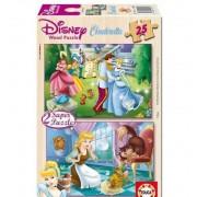 Puzzle 25 Cenicienta Madera Princesas - Educa Borras