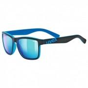 Uvex LGL 39 Mirror S3 Occhiali da sole blu/turchese/nero