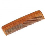 Osking Neem Wood Comb - Anti Dandruff Non-Static and Eco-friendly- Great for Scalp and Hair health Fine toothed Comb
