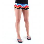 pantaloni scurți femei (costume de baie , pantaloni scurti) VANS - Primul mat - ZIG ZAG ONIX