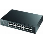 Switch ZyXEL GS1100 24E 24-Port Gigabit Ethernet Unmanaged Auto-MDIMDIX Fanless