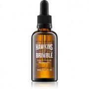 Hawkins & Brimble Natural Grooming Elemi & Ginseng подхранващо масло за брада и мустаци 50 мл.