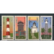 Taiwan 2018 Lighthouse Lighthouses Architecture Stamp Set 4v MNH