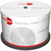 PRIM 2761224 - DVD+R 4.7GB/120Min, 50-er Cakebox