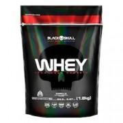 Black Skull Whey Protein - Black Skull - Whey 100% - Baunilha - 1,8kg