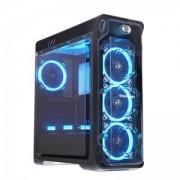 Кутия за настолен компютър Segotep Lux II Black Mid tower ATX, LUX-II-BK_VZ