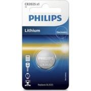 Baterie buton lithium 3V Philips cr2025-01b
