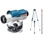 Комплект: Нивелир оптичен GOL 26 G , BT 160 Professional Статив + GR 500 Professional Лата, 0601068003, BOSCH
