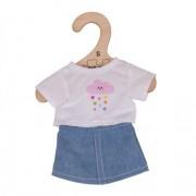 Bigjigs Doll Shirt Skirt - Small