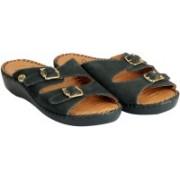 Dr. Scholls Women Dark Green Sandals