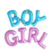 Baloane folie BOY/GIRL