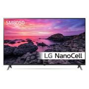 Televizor LG 65SM8050PLC, 165 cm, Rezolutie 4K, Afisaj NanoCell, Procesor Quad Core, Smart TV, Bluetooth, Wi-Fi, Clasa A+, Negru