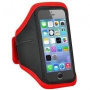 James Zhou Iphone 6/6S/7/8 sportarmband träning joggning cykling i olika färger (Röd)
