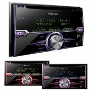 Autoestereo Pioneer Fh-x720bt Bluetooth USB 2 Doble Din iPod iPhone Android