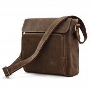Delton Bags Sac en cuir marron Tzika