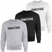 Domestique Sweatshirt - Black - XL - Black