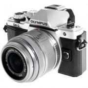 Olympus Aparat E-M10 Mark II Srebrny + Obiektyw EZ 14-42 mm IIR