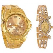 FSHION JUST IN TIME Analog Watch - For Couple