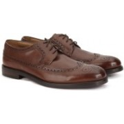 Clarks COLING LIMIT TAN LEATHER Lace Up For Men(Tan)