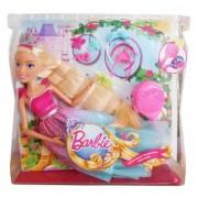 Papusa Barbie Endless Hair Kingdom DRJ31 43cm