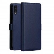 DZGOGO [Milo Series] for Samsung Galaxy A50 PU Leather Wallet Stand Case - Blue