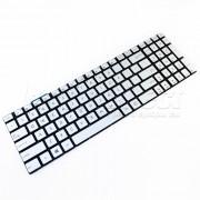 Tastatura Laptop Asus G771JM iluminata argintie + CADOU