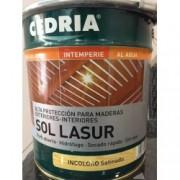 Sol Lasur incoloro satinado 4 L.