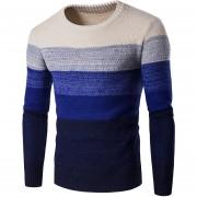Sueter Cardigan Para Hombre Fashion-Cool-Azul