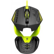 Mad Catz RAT 1 USB Mouse- Negro/Verde, B