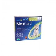 Nexgard Spectra Tab Medium Dog 16.5-33 Lbs Green 3 Pack