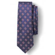 ランズエンド LANDS' END メンズ・シルク・フローラル・ニート・タイ/ネクタイ(リッチレッドフローラル)