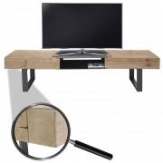 TV-Rack HWC-A15, Fernsehtisch, Tanne Holz rustikal massiv ~ Variantenangebot