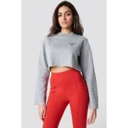 Hannalicious x NA-KD Instagram That Shit Sweater - Grey