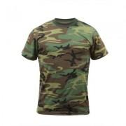 Rothco Rotcho T-shirt Woodland (Storlek: Small)