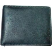 National Leathers Men Blue Genuine Leather Wallet(3 Card Slots)