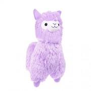 "TOLLION Cuddly Soft Purple Alpaca Llama Lamb Toy -7"" Stuffed Animal Cushion Plush Doll Valentine Gift New Baby Gift Graduate Gift Lovers Anniversary Fiesta Gift for Girlfriend Children and Friends"