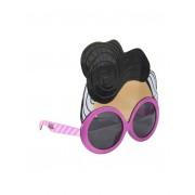 Lol Gafas de sol niña con máscara y logo rosa UNI