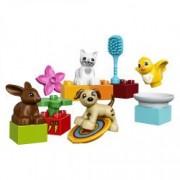 LEGO R DUPLO R Town Animalutele familiei 10838