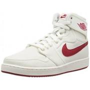 Nike Jordan Men's AJ1 KO High OG Sail/Varsity Red Basketball Shoe 8 Men US