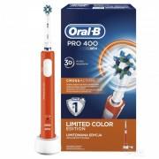 Periuta electrica Oral B PRO 400 Cross Action Orange