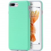 Funda Case Para IPhone 7 Plus / IPhone 8 Plus Doble Protector De Uso Rudo-Menta