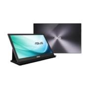 "Asus MB169C+ 39.6 cm (15.6"") Full HD LCD Monitor - 16:9 - Black, Silver"