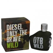 Diesel Only The Brave Wild Eau De Toilette Spray (Tester) 2.5 oz / 73.93 mL Men's Fragrances 540668