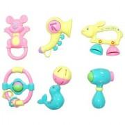 Akshata Baby Toddler Toys Rattle Sweet Cuddle Infants Jhunjhuna New Born Toys Sound Amusing - For 1 or 2 Year Baby