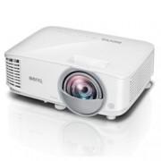 Проектор BenQ MW826ST, DLP, 3D Ready, WXGA (1280x800), 20,000:1, 3400 lm, 2x HDMI, 2x VGA, 1x RJ45, 1x USB A, 1x USB mini B