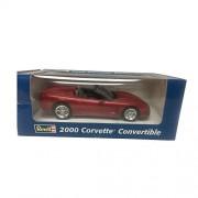 Revell Chevrolet 2000 Corvette Convertible 1:25 Scale Plastic Promo Red Metal Car Replica
