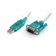 StarTech USB2.0 naar RS232 DB9 kabel M/M 90cm