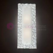 Familamp Stone Lampada Da Parete Soffitto Murano 60x20 Effetto Sassi