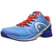 Head Men's Nitro Pro Tennis Shoe, Blue/Flame, 7 M US
