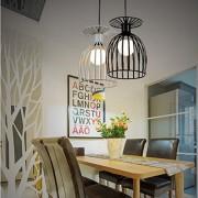 ELECTROPRIME Elegant Wine Glass Shape Lampshade Living Room Bedroom Corridor Decor Black